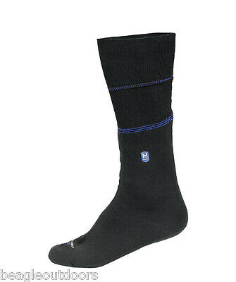 NEW Hanz Submerge Waterproof Socks Large Sock Black Breathable Thermal Level H2