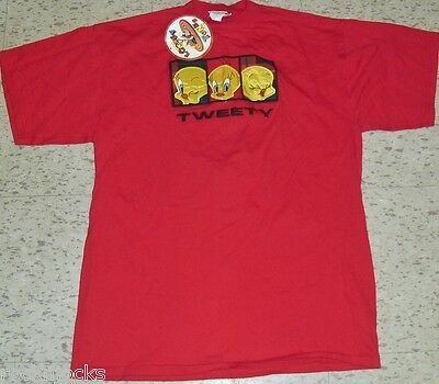 Tweety Bird Looney Tunes T-Shirt sz. Large New With Tags (EMBROIDERED LOGO)