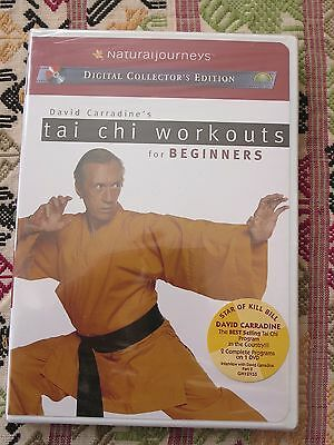 David Carradine's Tai Chi Workout For Beginners - New Dvd