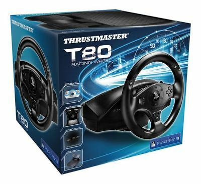 Thrustmaster T80 Steering Wheel with Pedals PS4 Playstation 4 Brand New