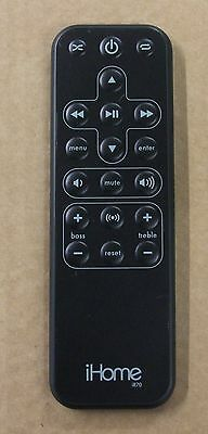 iHome dock Remote Control iR70   FREE DELIVERY