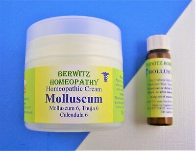 Molluscum/Thuja Warts Homeopathy Cream /Remedy Kit for Children & Adults