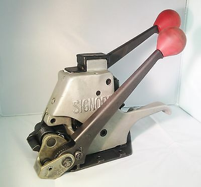 """Signode Al  Strapping Tool For 3/8"""" & 1/2"""" Steel Strapping"""