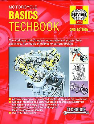 Haynes Motorcycle Basics Techbook 2nd Edition Engine Chassis Electrical Systems