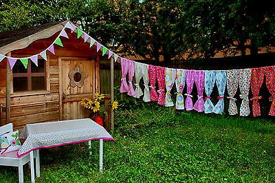 Playhouse Curtains ~ Wendy House Curtains ~ Outdoor House Curtains