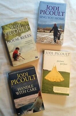 Lot of 4 Jodi Picoult Softcover Books