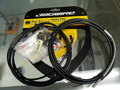 Jagwire Road Pro Complete Derailleur And Brake Cables Black Kit