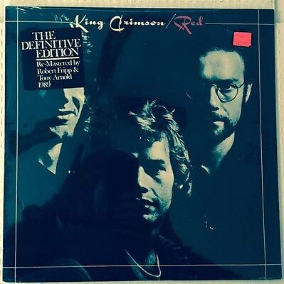 King Crimson RED New Sealed Vinyl Record LP The Definitive Edition