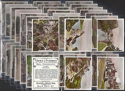 Hill (Rj)-Large Card Set- Views Of Interest 3Rd Series - Exc