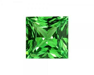 0.77 Carats Natural Tsavorite Loose Gemstone - Square