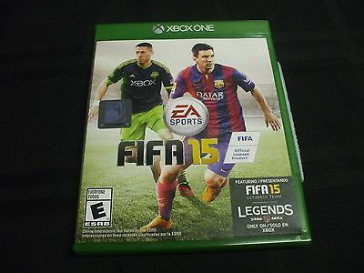 Replacement Case (NO VIDEO GAME) FIFA 15 XBOX ONE 1
