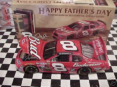 Dale Earnhardt Jr 04 #8 BUDWEISER FATHERS DAY ACTION LQQK NEW NEVER OPENED