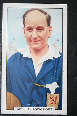 Jack Howcroft  FA Cup Final  Referee   Vintage 1930's Card  # EXC