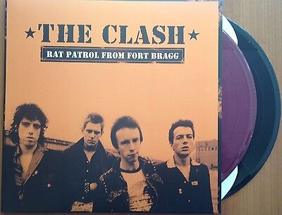 The Clash Rat Patrol From Fort Bragg New 2 x Colored LP