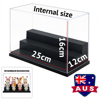 AU Acrylic 3 Steps Display Case Clear Box Dustproof Plastic Tray For Car Model