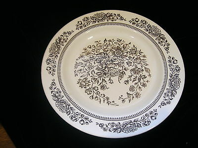 """Vintage Cavalier Ironstone Royal China 10"""" Dinner Plate - Made in USA"""