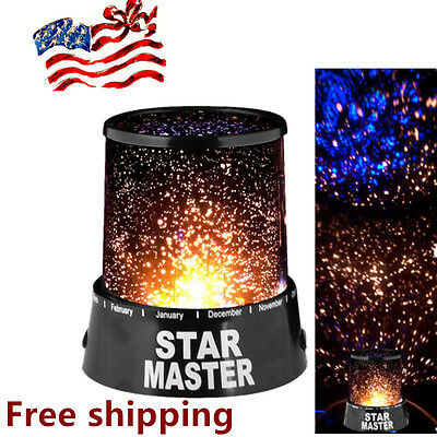 Romantic Amazing Sky Star Master Night Light Projector Lamp Good Gifts KN