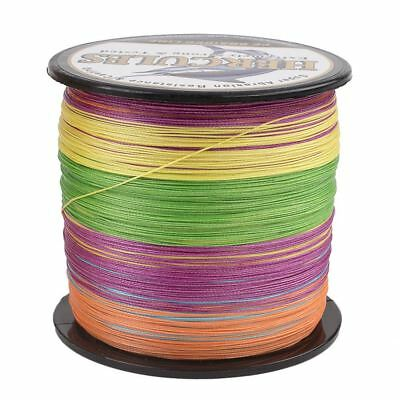 100M 8 Strands Color 10-300LB Saltwater Spectra Braided PE Fishing Line Dyneema