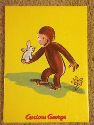 Curious George Wall Hanging Artwork  Baby's Or Childerns Room