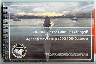 RARE NEW ZUMWALT DDG 1000 DESTROYER BOOKLET AND VICTORY! BROCHURE – FREE SHIP