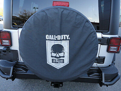 1997-2015 Jeep Wrangler Call of Duty MW3 ELITE COD Spare Tire Cover MOPAR OEM