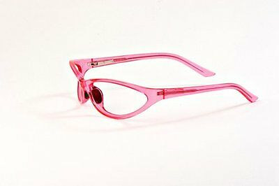 X Ray Radiation Protection Safety Glasses Leaded Lenses PSR-600 (Pink)
