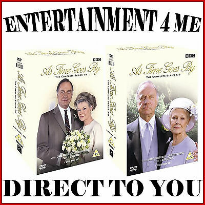 As Time Goes By - Complete Series 1 2 3 4 5 6 7 8 & 9 *brand New Dvd*