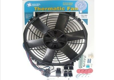Davies Craig 8 Inch 12V Electrical Thermo Fan Kit 0035