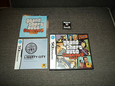Nintendo DS Grand Theft Auto: Chinatown Wars  (Rockstar, 2009) Complete game