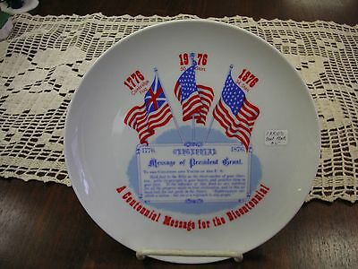 """Bicentennial 8 1/2"""" Plate LE - May need Cleaning - Plate #59"""