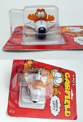VINTAGE RARE! ERTL DIECAST GARFIELD CAT ON SPACE SHUTTLE MODEL CAR FILM CARTOON