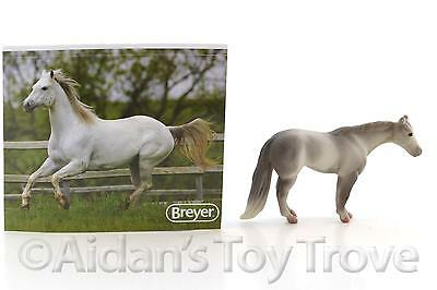 Breyer Mini Whinnies Surprise MAX QH - Model Horse + Sticker + Bag + Catalog