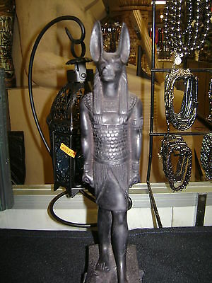 Large  Egyptian Anubis Statue Hand Carved  Made in Egypt