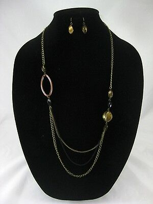 One Dozen New Wholesale Necklace & Earring Sets #N2503-12