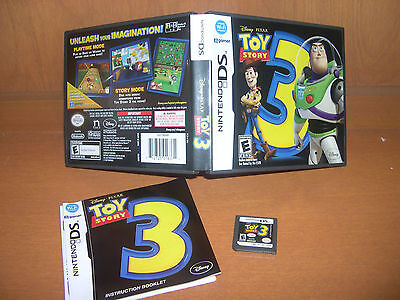 Toy Story 3: The Video Game (Nintendo DS, 2010) Complete