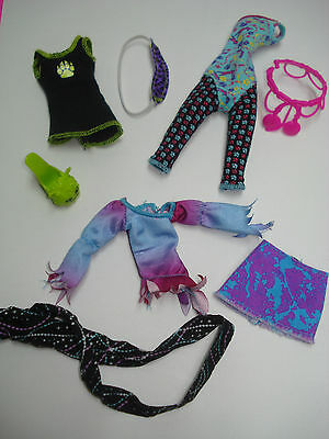 Mattel Monster High Doll CLothes Mixed Lot Clawdeen Howleen & Abbey 4 Parts