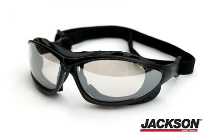Jackson Safety Glasses V50 EPIC Clear Impact & AntiFog Lens Safety Goggles 33345