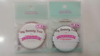 [Etude House] My Beauty Tool Any Air Puff (Pink, Blue) Collection Set + Samples~