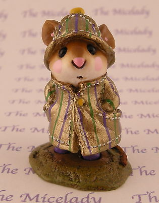 APRIL SHOWERS by Wee Forest Folk, M-180, MARDI GRAS, Mouse Expo 2006 Exclusive