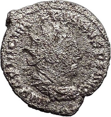 Valerian I 253AD Rare Silver Ancient Roman Coin Felicitas Good luck Cult  i48116