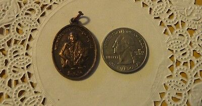 Vintage Catholic Religious antique Holy  Medal -unidentified medal #246