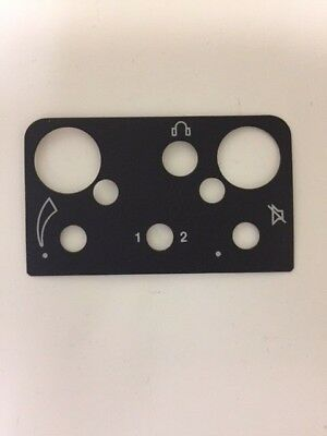 Motorola Top Label Escutcheon HT90 Model 1305181J10