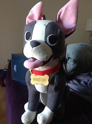Disney Store Winston Boston Terrier Feast Sold Out 15