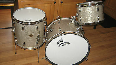 Vintage Gretsch 3pc RB Drumset Jazz sizes- 20,12,14-clean