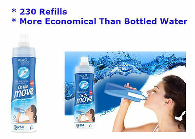 Water Filter Bottle Aqua Optima On The Move  0.65 Ml 230 Refills