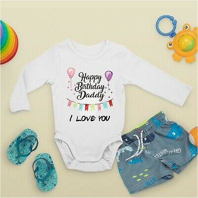 Baby Grow - Personalised Text Printed Front or Back Funny Present Gift Shower