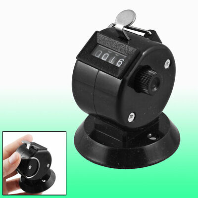 Golf Pitch Count 4 Digit Number Clicker Portable Tally Counter Black