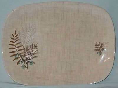 Rock Fern by J & G Meakin Small Oval Platter