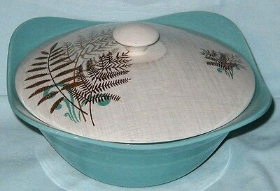 Rock Fern by J & G Meakin Covered Serving Bowl, South Seas #1
