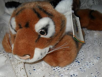 Conservation Collection Tiger Stuffed Animal Wildlife Artists, Tag